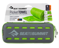 Рушник Sea To Summit Pocket Towel XL Lime