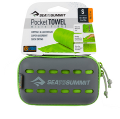 Полотенце Sea To Summit Pocket Towel S Lime (STS APOCTSLI)