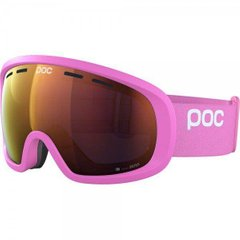 Маска гірськолижна POC Fovea Mid Clarity, Actinium Pink/Spektris Orange, One Size (PC 404088267ONE1)