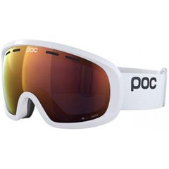 Маска гірськолижна POC Fovea Mid Clarity, Hydrogen White/Spektris Orange, One Size (PC 404088265ONE1)