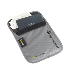 Кошелек нательный Sea To Summit TL Ultra-Sil Neck Pouch RFID Grey, 15 х 12.5 х 1.3 см (STS ATLNPRFIDS)
