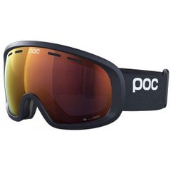 Маска гірськолижна POC Fovea Mid Clarity, Uranium Black/Spektris Orange, One Size (PC 404088214ONE1)