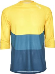 Велоджерси POC Essential Enduro 3/4 Light Jersey, Sulphite Multi Yellow, L (PC 528338240LRG1)
