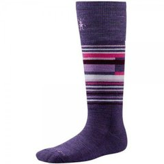 Шкарпетки дитячі Smartwool Wintersport Stripe Desert Purple, L (SW SW198.284-L)